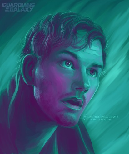 Starlord, prints available: 8 x 12