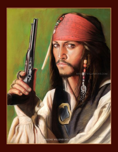 Jack Sparrow 1, prints available: 4x6, 8 x 10