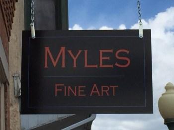 visit Myles Fine Art in Salida, CO