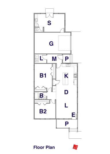 Custom Small House-Floor Plan | North Grove, Saskatchewan