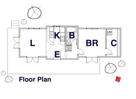 Small House Design-Floor Plan | Regina Beach, Saskatchewan