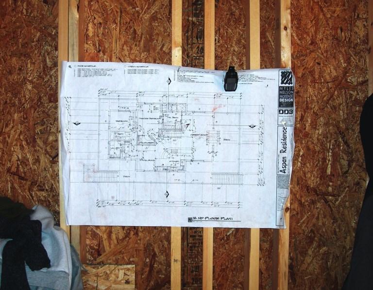 Myles Nelson McKenzie Design Canada-Custom Square Log Mountain Home-Construction Plans