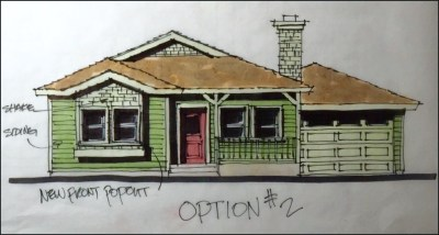 About Myles Nelson McKenzie Design created a concept design for custom home in in Santa Ana, California