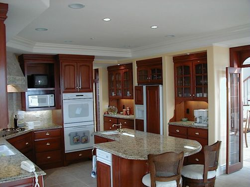 Custom Home Design-French Provencal-Kitchen