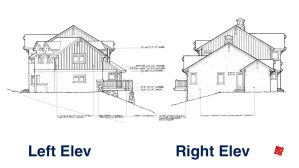 Myles Nelson McKenzie Design-Custom Home Design-Rustic Mountain, Park City, Utah-End Ext. Elevations