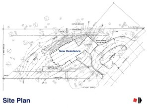 Myles Nelson McKenzie Design-Custom Mountain Home Design-Park City, Utah-Site Plan