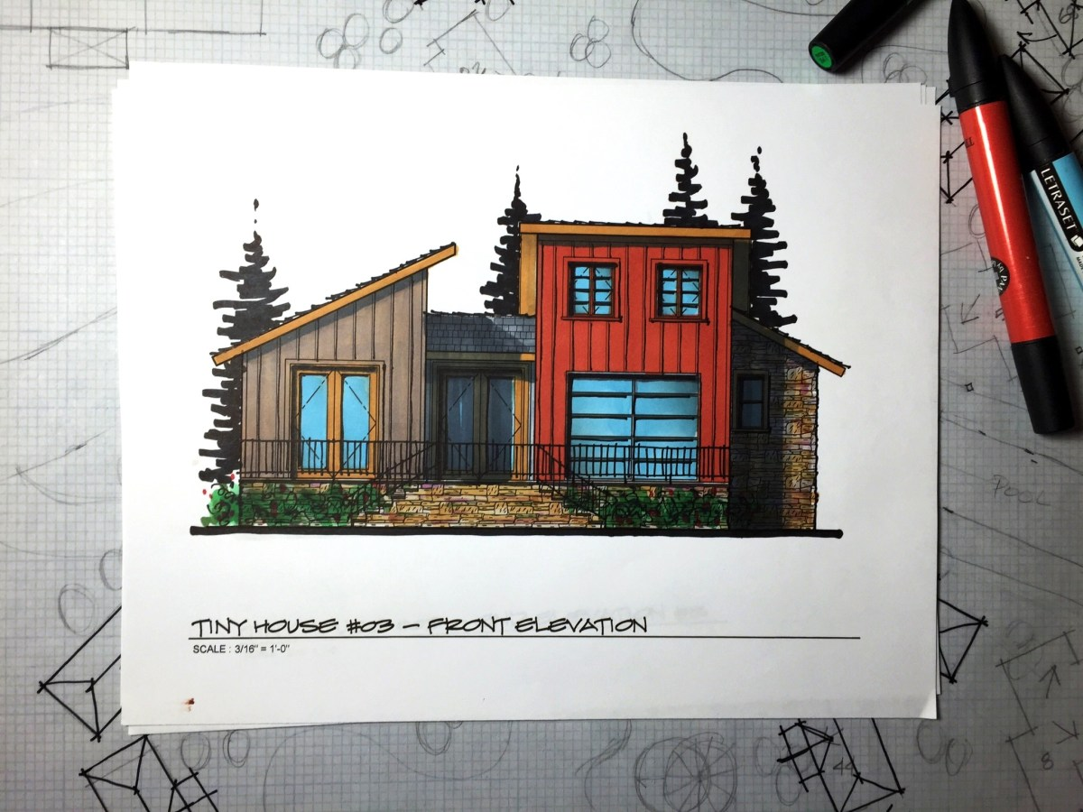 Portfolio 5-Small House Design