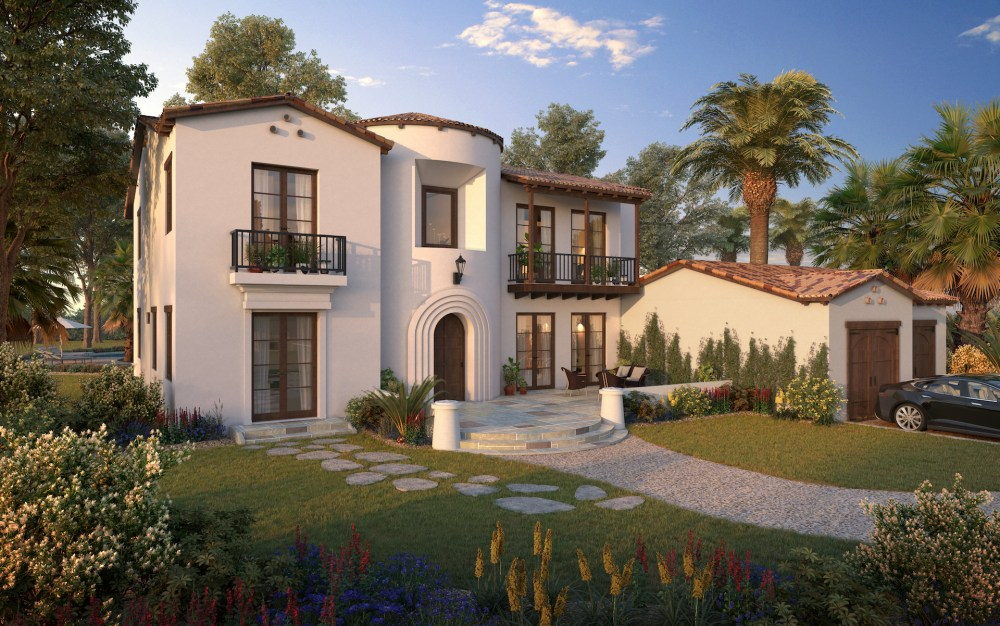 A Spanish Colonial custom Home design for clients in Paso Robles California by Myles Nelson McKenzie Design.