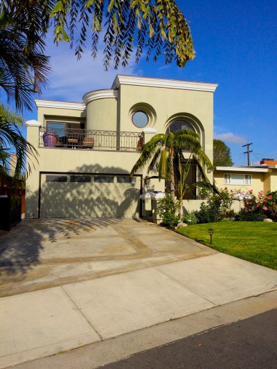 San Clemente Italian Villa Design-Remodel and Addition-Front Elevation