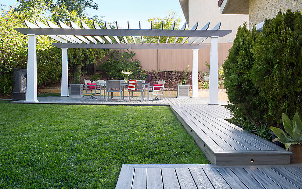 Trex-Sustainable Outdoor Decking Material
