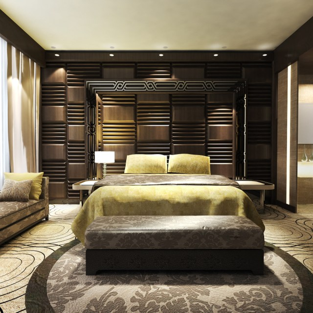 Details of a Master Bedroom Design by Myles Nelson McKenzie Design