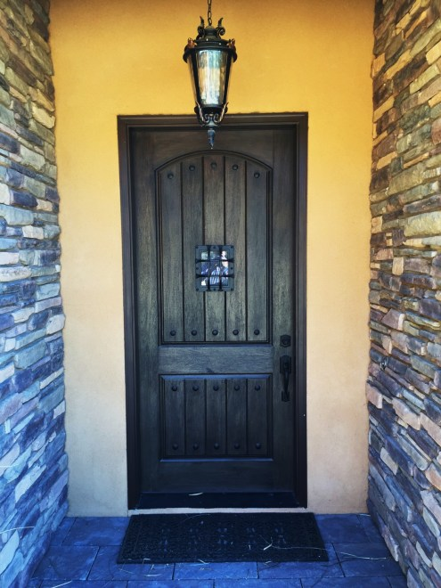 Home Remodel-Italian Ranch-Orange Acres-Front Entry