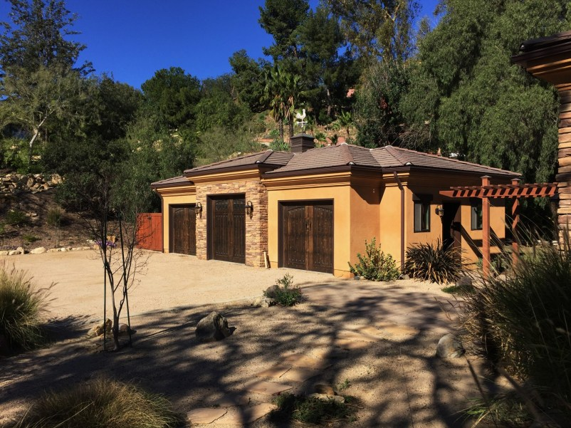 Home Remodel-Italian Ranch-Orange Acres-New Garage
