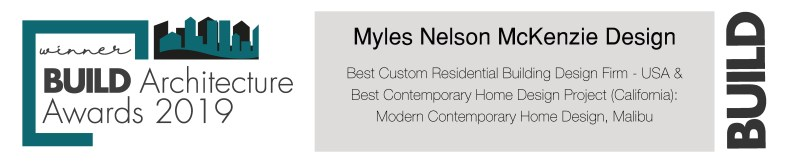 "Award Winning Design - ""Best Contemporary Home Design Project (California): Modern Contemporary Home Design, Malibu."""