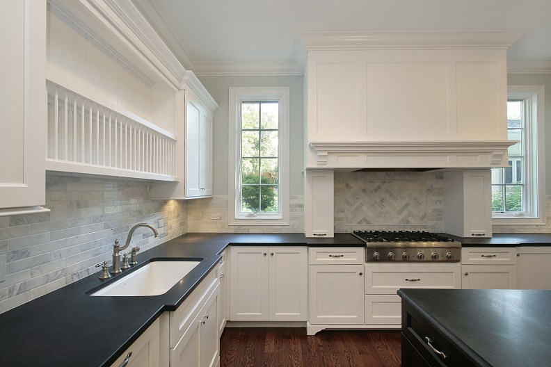 Custom Kitchen Design-White Shaker Cabinets