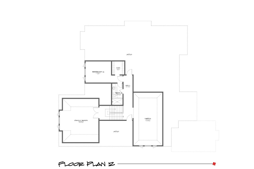Myles Nelson McKenzie Design-Sea Pines Home Design-Floor Plan 2