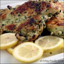 Cilantro Thai Chicken with Lemons By Artsy-Foodie