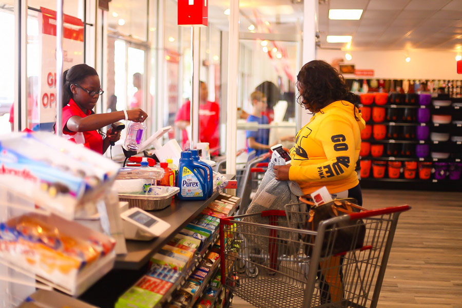 Cashier-Checking-out-Customer