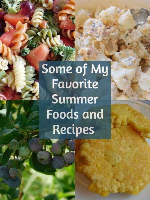 Summer food and recipes.