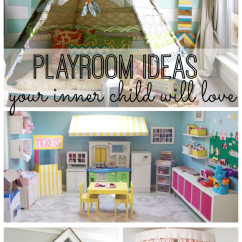 Outdoor Kitchen Pics Cabinets Jacksonville Fl Playroom Ideas Your Inner Child Will Love - My Life And Kids