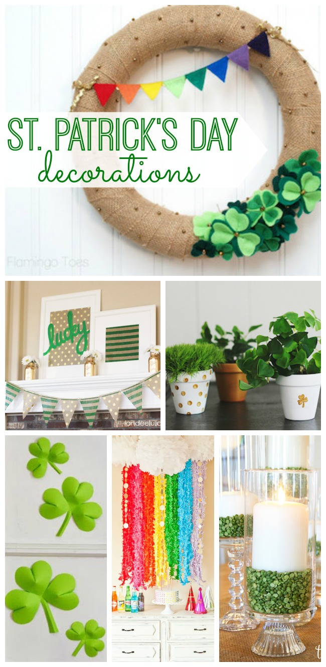 St Patricks Day Decorations My Life And Kids