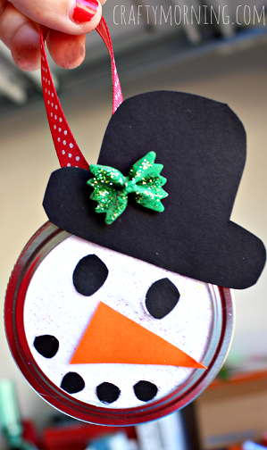 make ornaments with kids