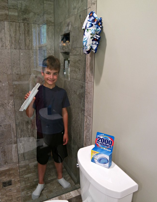6 Hacks For Getting Your Kids To Clean The Bathroom My