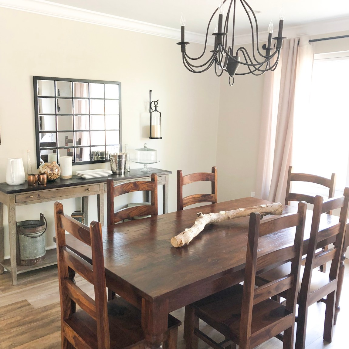 Bohemian Inspired Dining Room