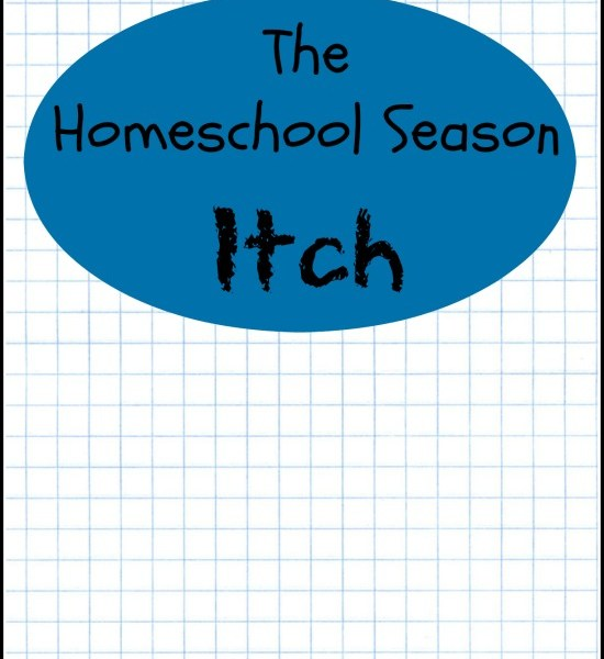 The Homeschool Season Itch via My Life as a Rinnagade