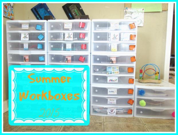 Summer Workboxes via My Life as a Rinnagade