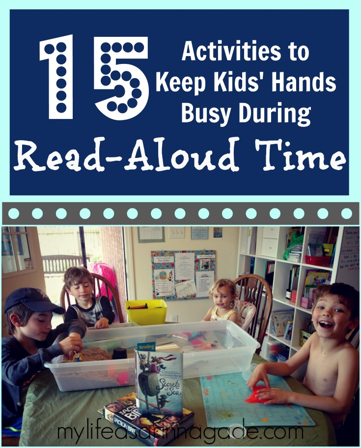 15 Activities to Keep Kids' Hands Busy During Read-Aloud Time