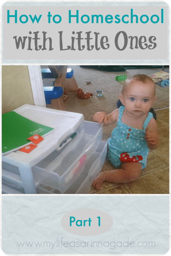 How to Homeschool with Little Ones Part 1 via My Life as a Rinnagade
