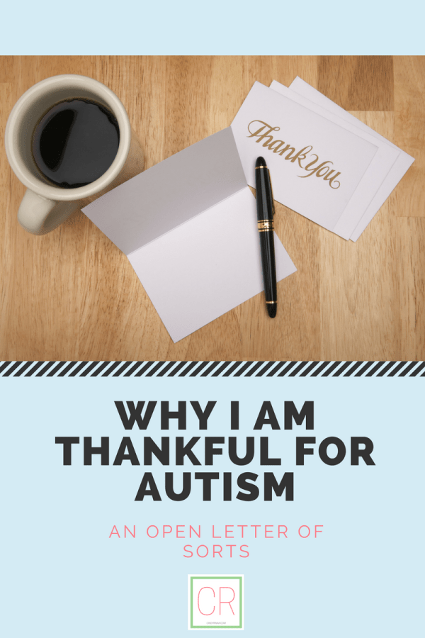 why I am thankful for autism