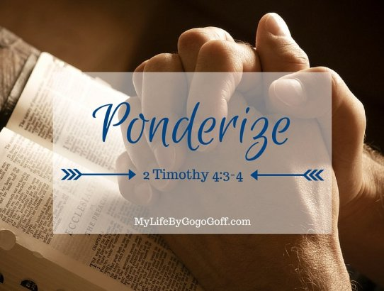 Ponderize Preach My Gospel: The Great Apostasy: 2 Timothy 4:3–4