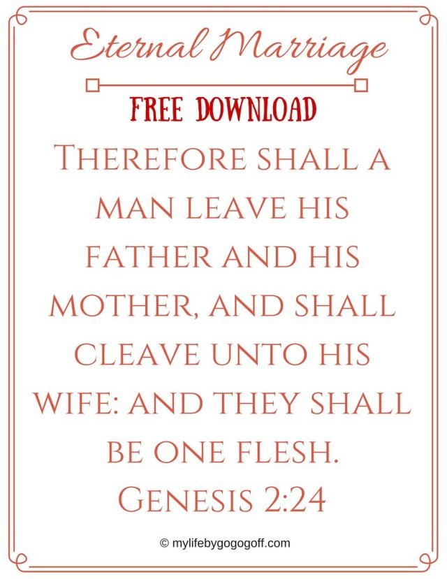"""Eternal Marriage Ponderize Preach My Gospel! With Free Printables to help!You might ask, """"Why should I ponderize Preach My Gospel?"""" The answer is simple..."""