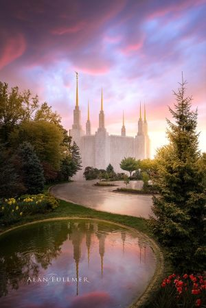Washington DC Temple by Alan Fullmer