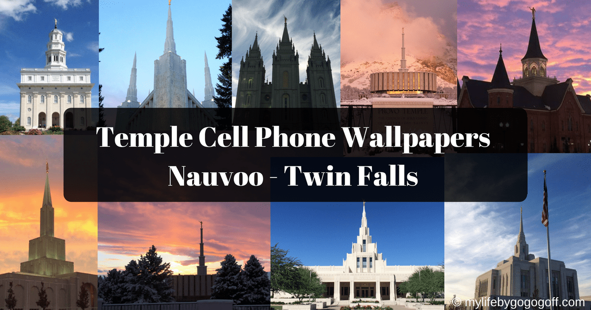 LDS Temple Cell Phone Wallpapers Nauvoo - Twin Falls