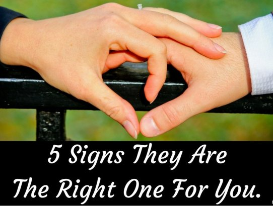Are you looking for Mr/Ms Right? Do you know anyone else who is looking for the right one? Here are 5 ways to tell if someone is the right one for you! #ByGogoGoff