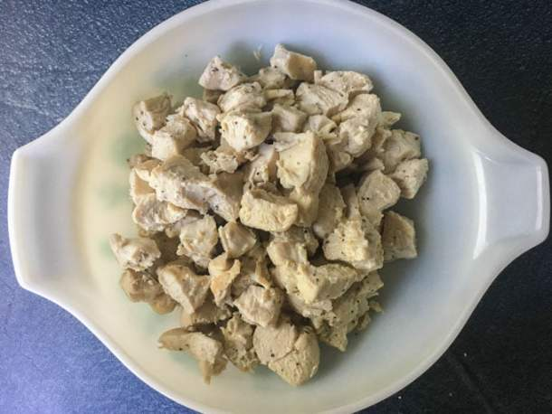 One way to stay on track with a low carb diet is meal prep and the Instant Pot is a very useful tool. This recipe for Instant Pot chicken cubes will help you make and freeze cooked chicken cubes for soups, stews, casseroles and more.