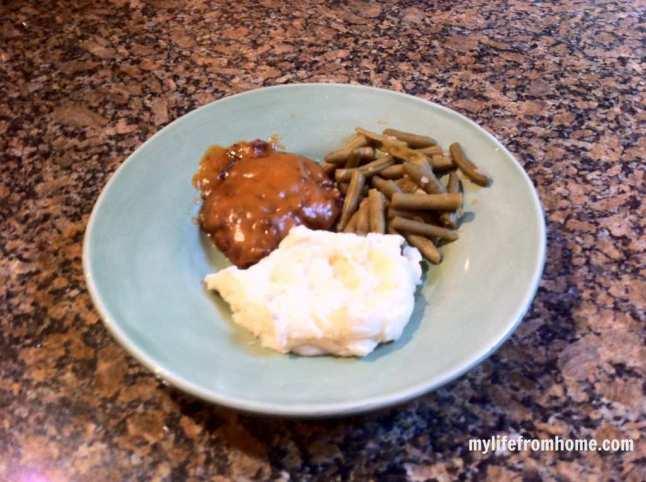 Simple Salsibury Steak