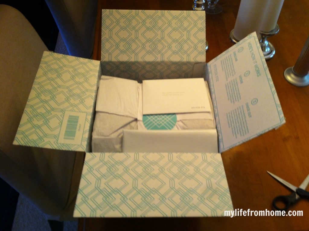My Stitch Fix box October