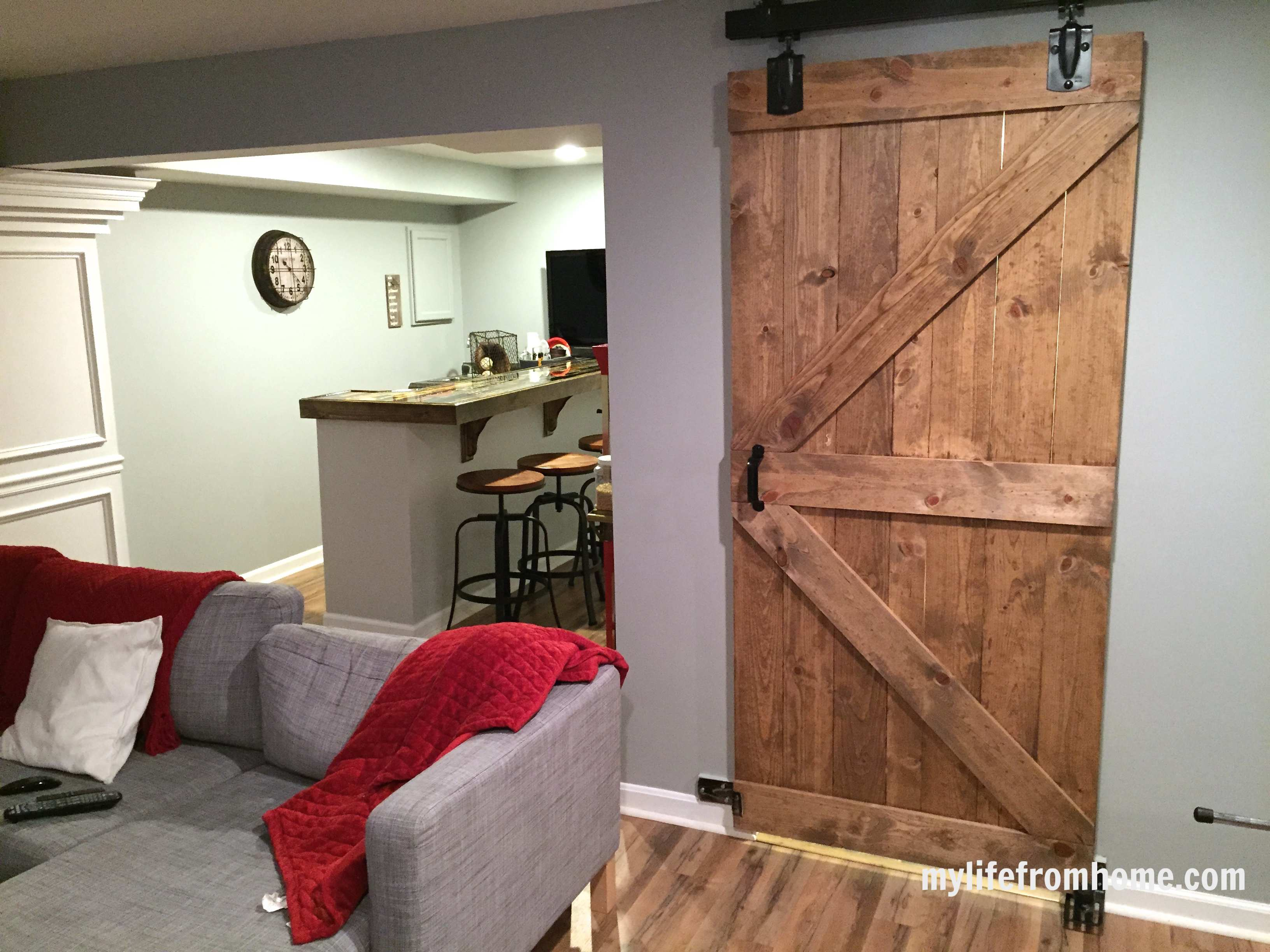 and interior barns barn in with wooden door shower bathroom doors charming sliding walk wood