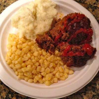 Simple  BBQ Meatloaf