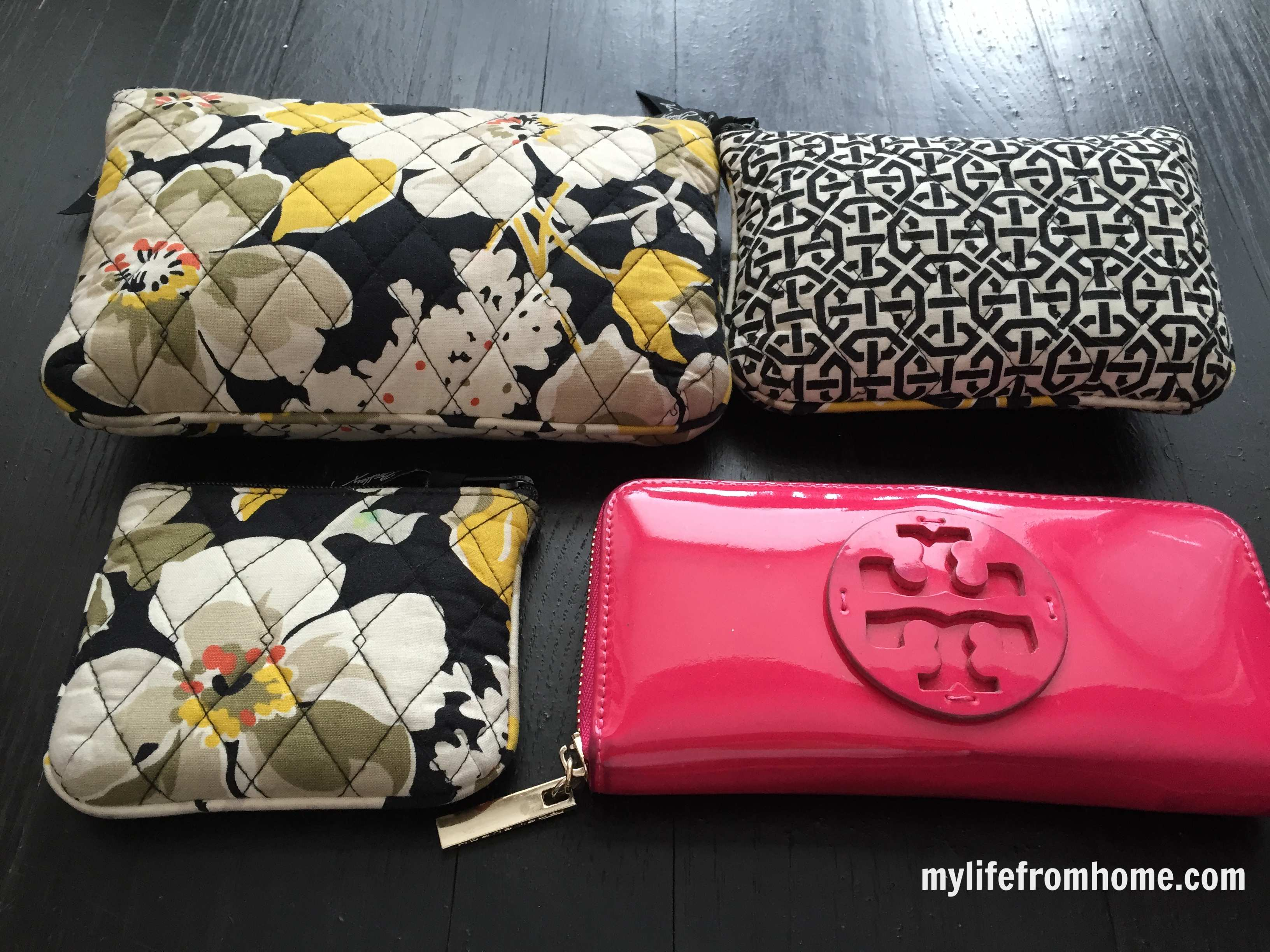 Purse Organization by www.mylifefromhome.com