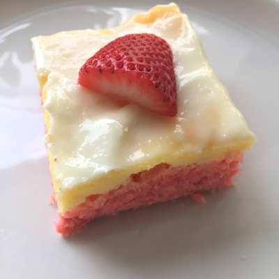 Strawberry Cream Cheese Bars