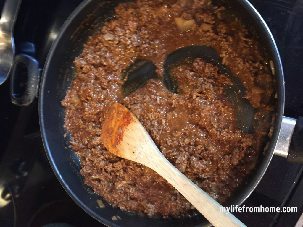 Recipe for Chili Mac Using Cincinnati Chili and Noodles by www.mylifefromhome.com