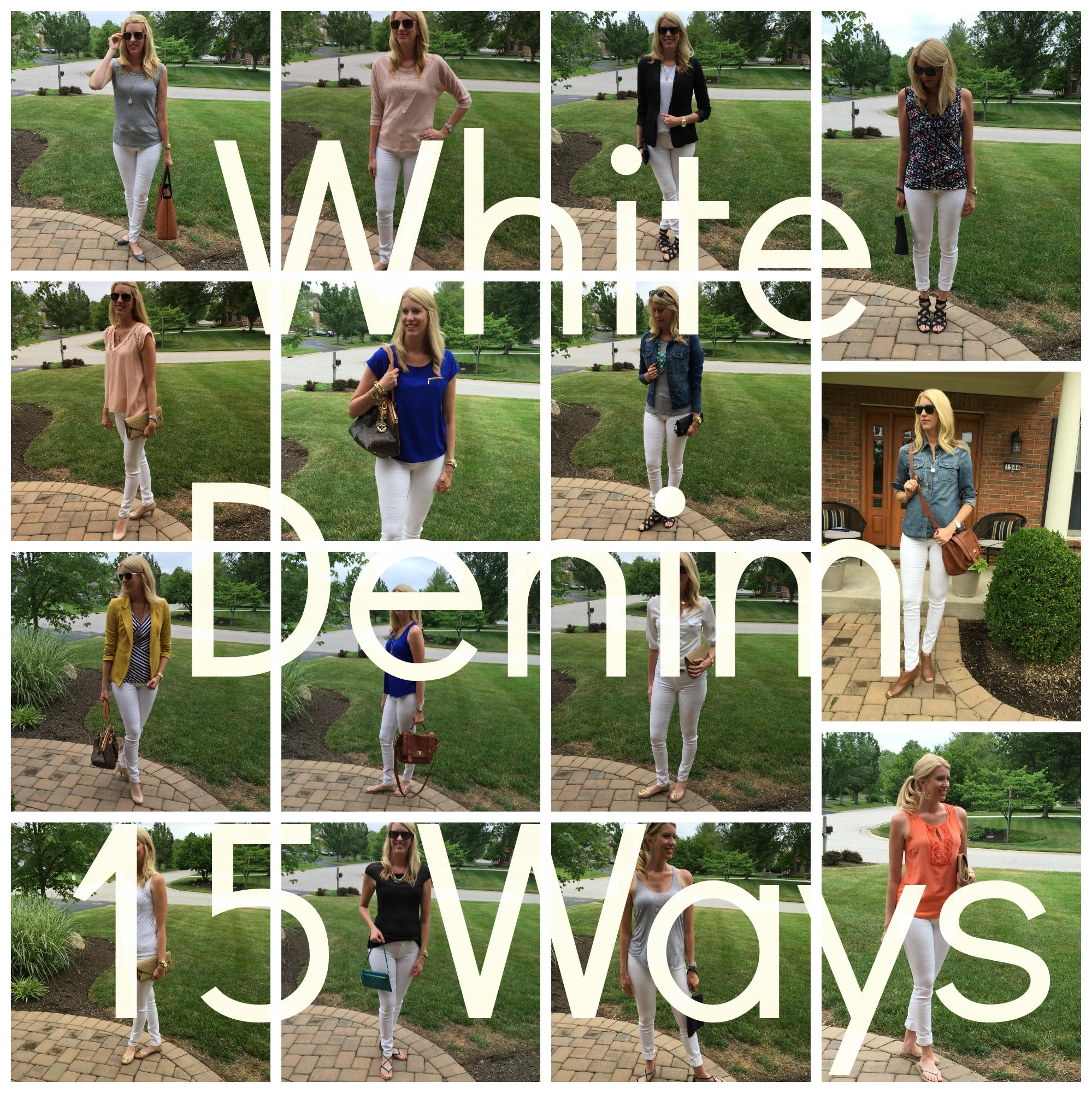 White Denim Collage 2
