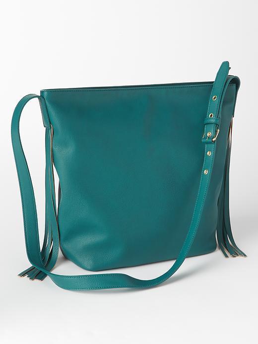 Gap fringe bag
