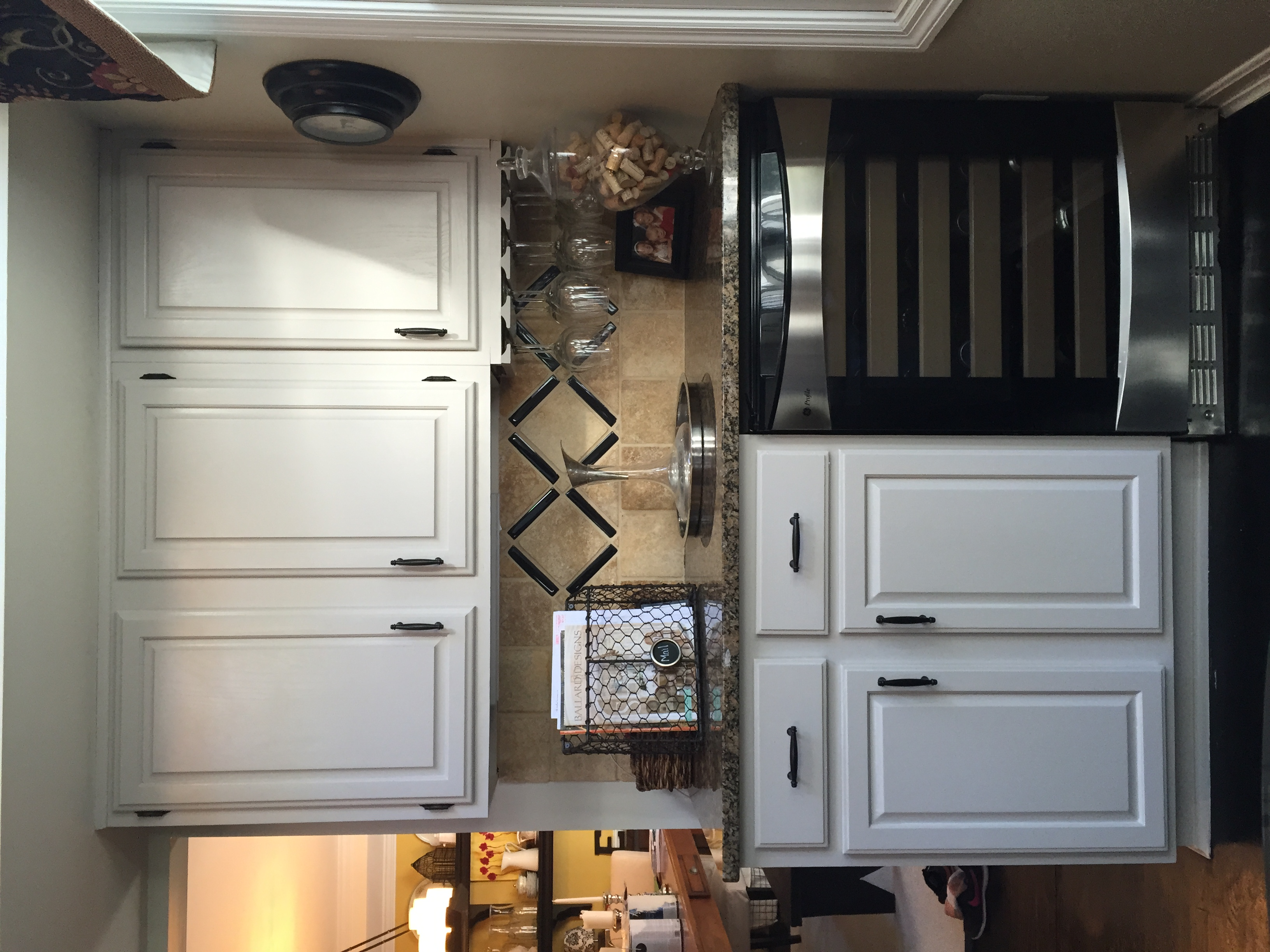 DIY: How I Painted My Kitchen Cabinets | White Cottage ...