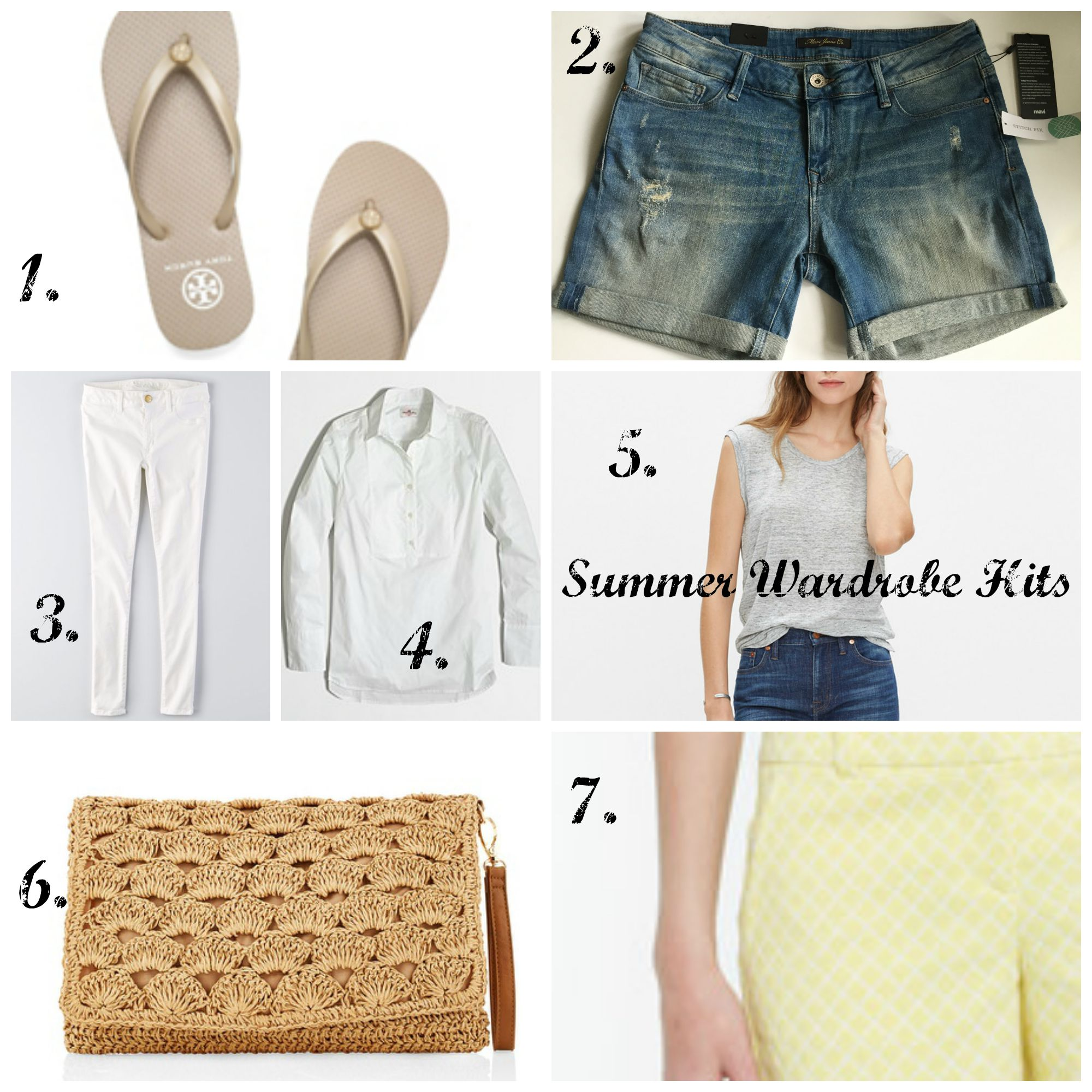Summer Wardrobe Hits by www.mylifefromhome.com